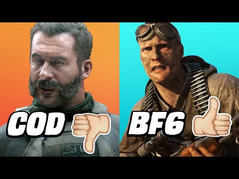 Call Of Duty Should Be Afraid Of Battlefield Again