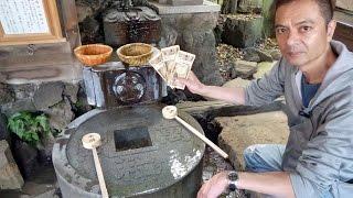 一粒萬倍の泉がある品川神社で年末ジャンボ宝くじ高額当選必勝参拝