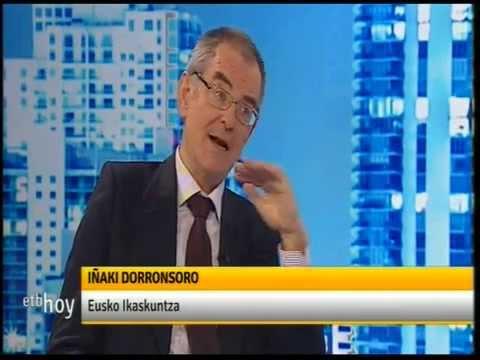 2014 12 11: Iñaki Dorronsoro Eusko Ikaskuntzako presidentea 'Etb hoy' saioan