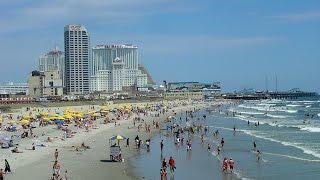 видео Атлантик-Сити США