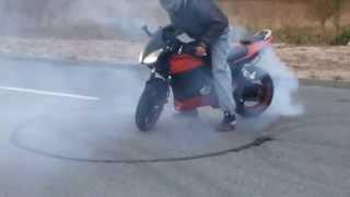 Palenie Gumy, Burnout Zipp Pro 50/250 6B Honda Engine