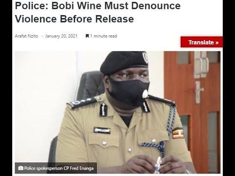 UGANDA: Polisi ntizava kwa Bob wine vuba aha kubera urugomo rwe / Kenya SANITIZER yaciwe mu mashuri