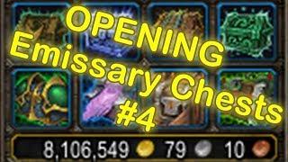WoW Legendary Chest Opening #4 | Emissary Chest - Emissary Caches Opening [World of Warcraft Legion]
