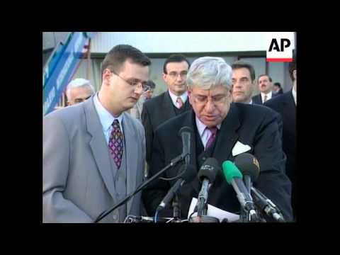 BOSNIA/MONTENEGRO: KOSTUNICA NEW PM ANNOUNCEMENT