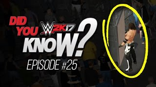 WWE 2K17 Did You Know? Tables in Crowd, Crowd Glitches & Barricade Dives! (Episode 25)
