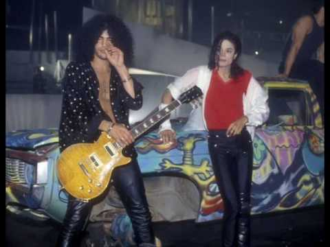 Michael jackson d s with slash youtube for Jackson galaxy band