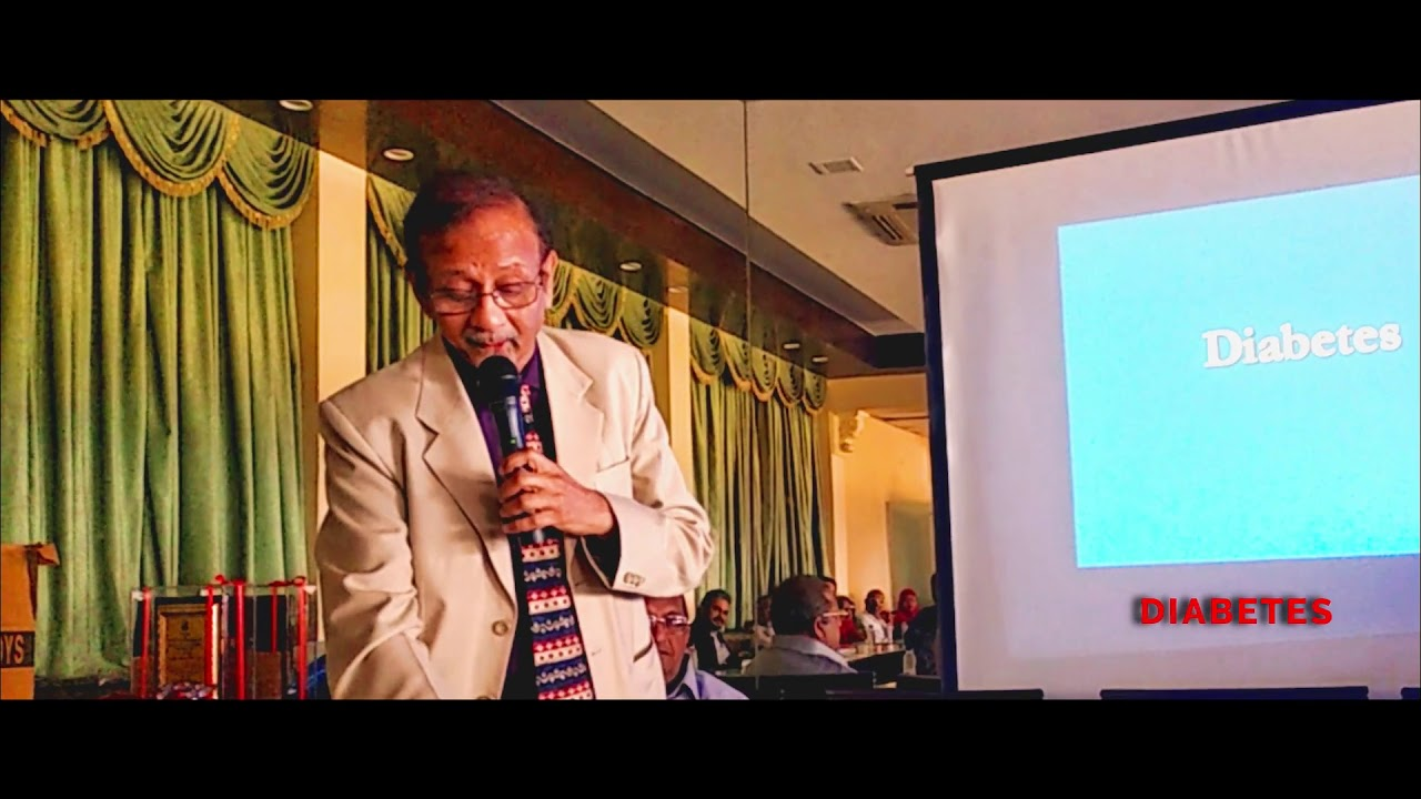 Common complication of Obesity, Diabetes & High B.P. – Lecture by Dr Bharat Shah ( Nephrologist )