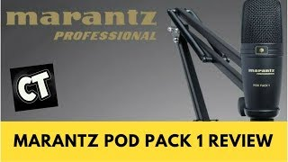 Marantz Professional Pod Pack 1 Review
