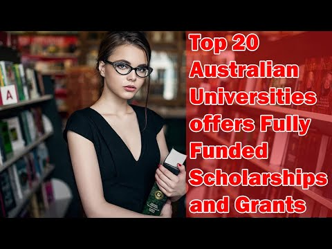 Top 20 Australian Universities 2019