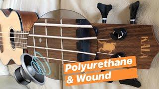 �� Kala U-Bass Solid Spruce Mahogany �� (Polyurethane Wound Strings)
