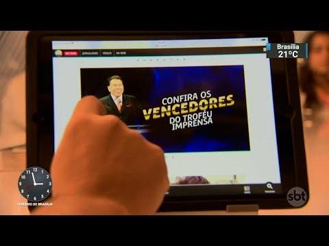 Conteúdo do SBT na TV e na internet é tema de evento em São Paulo | SBT Notícias (07/03/18)