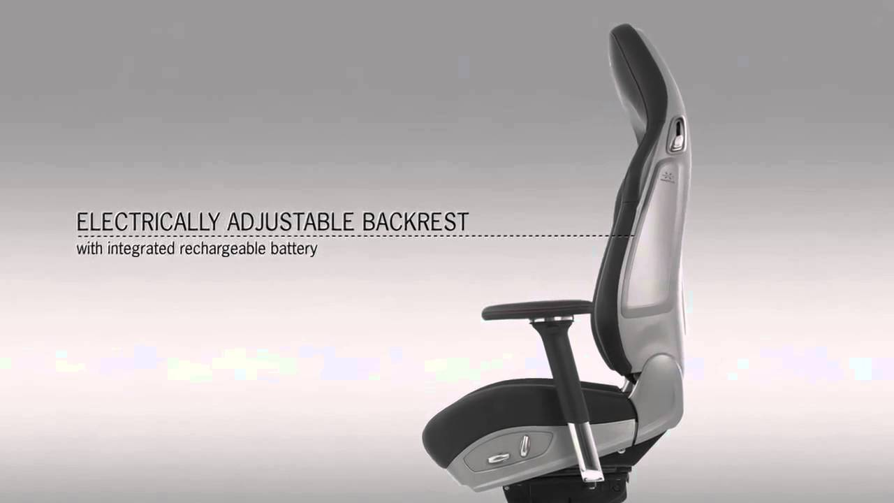 office chair rs – the original porsche 911 sports seat - youtube