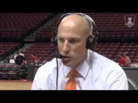 John Groce Postgame Radio Interview at Nebraska 2/26/17