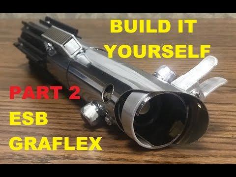 PART 2 OF HOW TO:  BUILD A LUKE SKYWALKER ESB LIGHTSABER TUTORIAL DIY!!