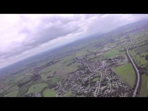 Flying around Chirk & Oswestry
