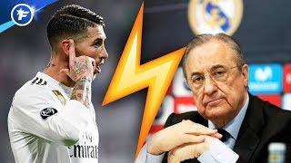 Rien ne va plus entre Florentino Pérez et Sergio Ramos | Revue de presse