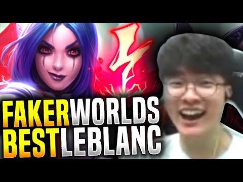 Faker Brutal Dominating with Leblanc! The Leblanc God! - SKT T1 Faker Picks Leblanc Mid!   SKT T1