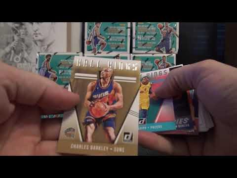 2018/19 Donruss Basketball 10 Box Case ' Random Teams' GB Part 1/3