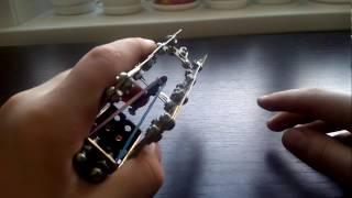 Пистолет из железного конструктора