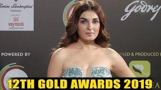 Best And Worst Dressed Of Television Celebrities At 12th Gold Awards 2019 RED Carpet