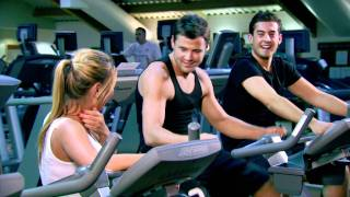 The Only Way Is Essex: Mark Wright and Arg talk to Sam Faiers in the gym