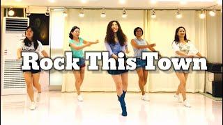Rock This Town line dance(Impr…