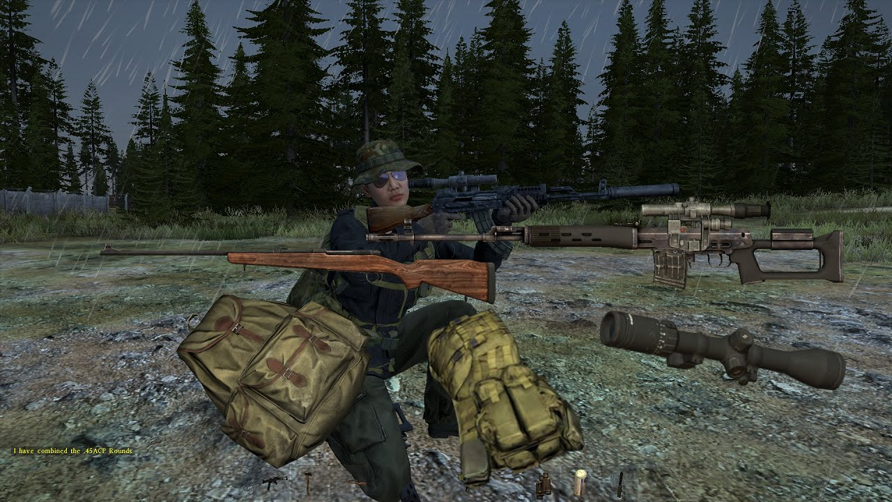 Rare Items (SVD Hunting Backpack Winchester and more) - YouTube & DayZ Standalone Sweet Tips: 3. Rare Items (SVD Hunting Backpack ...