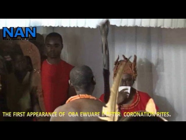 The making of Oba Ewuare II