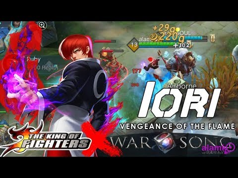 15:35 Iori Of King Of Fighters Join In War Song Moba 5vs5 - Razer Phone  Gameplay | War Song 5vs5 Moba Gameplay/news/updates | Alamko That Info  25/06/2018