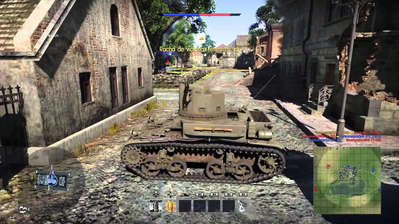 War Thunder Gran Juego De Tanques Ps4 Youtube