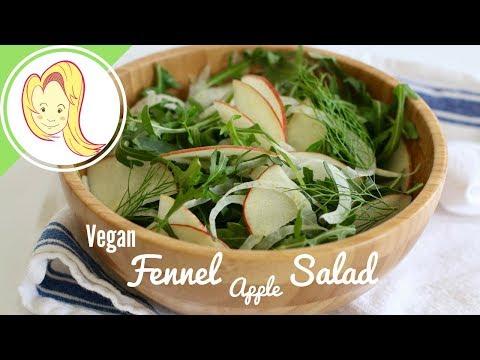 Fennel Apple Salad (Vegan)