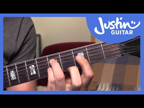 10 Basic Jazz Chords - Guitar Tutorials - JustinGuitar [JA-001]