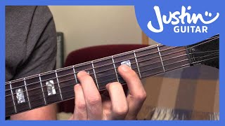 10 Basic Jazz Chords (Guitar Lesson JA-001)