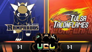 St. Louis Rampardos VS Tulsa Talonflames! Week 3 UCL S2 |