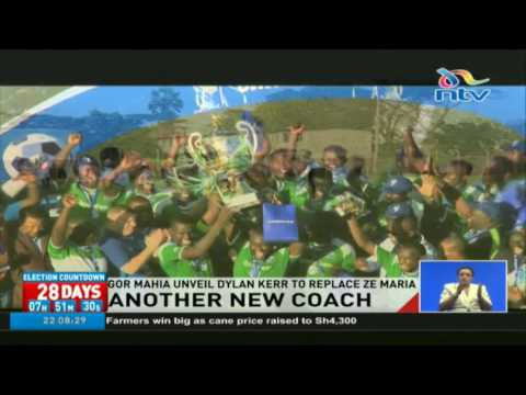 Gor Mahia unveil Dylan Kerr as new coach