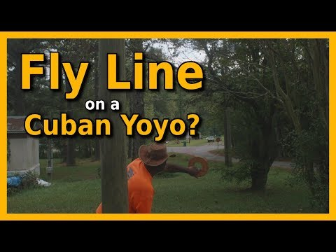 Casting A Cuban Yoyo With Fly Line