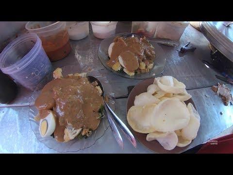 Indonesia Makassar Street Food 1723 Part.1 Gado2 Jawa Lamongan YDXJ0300