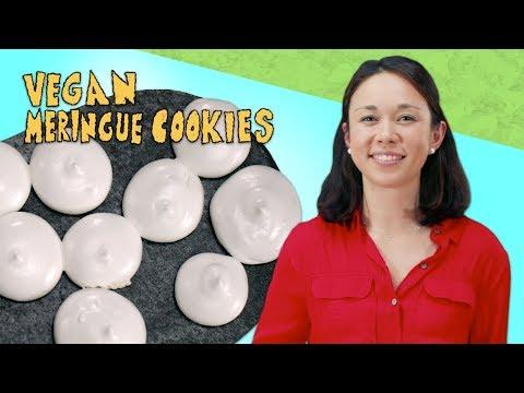 Learn to Make Light & Crispy Vegan Meringue Cookies with Only 3 Ingredients| EatingWell