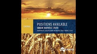 GrainCorp 2020 Harvest Application