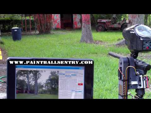 Fully Automated Paintball Sentry Gun (video 17 of 18)