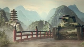 World of Tanks - Japanese Armored Vehicles Trailer