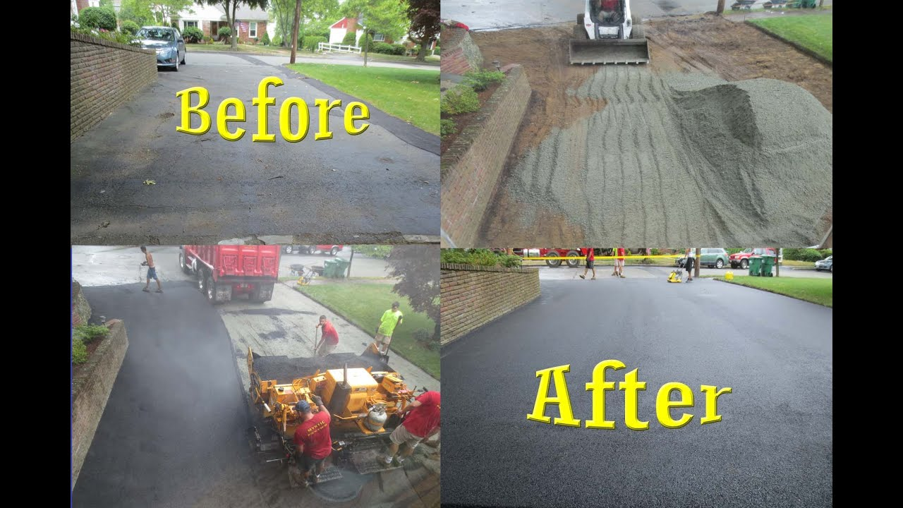 Asphalt driveway removed and replaced start to finish youtube asphalt driveway removed and replaced start to finish solutioingenieria