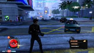 Sleeping Dogs Square Enix character Pack DLC Gameplay