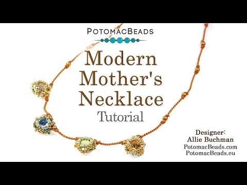 Modern Mother's Necklace (DIY Tutorial)