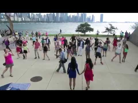 Sam and Nina's Flash Mob Marriage Proposal in Chicago