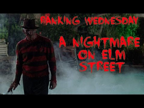 Ranking A Nightmare On Elm Street Franchise | Ranking Wednesday | Ep 1