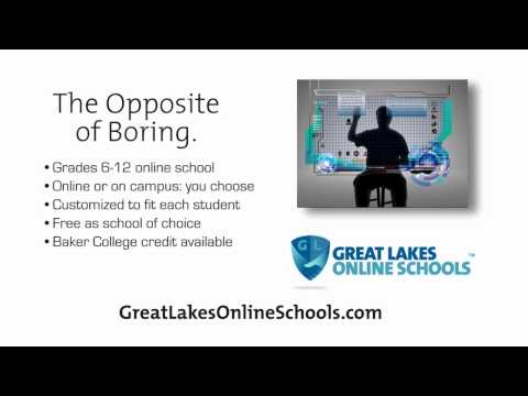 Great Lakes Online Schools - The Opposite of Boring.