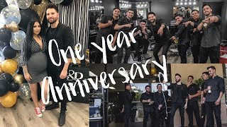 Barber Shop Anniversary + See Baby in HD!