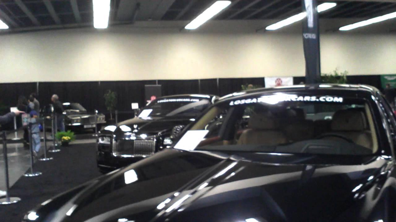 Rolls Royce Lotus Evora Moscone Car Show SF California YouTube - Moscone car show