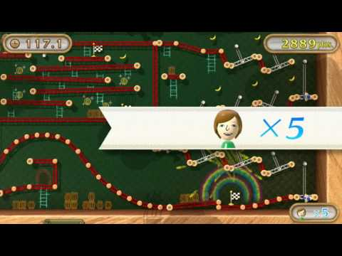 NintendoLand La Pista de Obstaculos de Donkey Kong: Me sale el crack